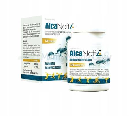 AlcaNeff 120 tabletek