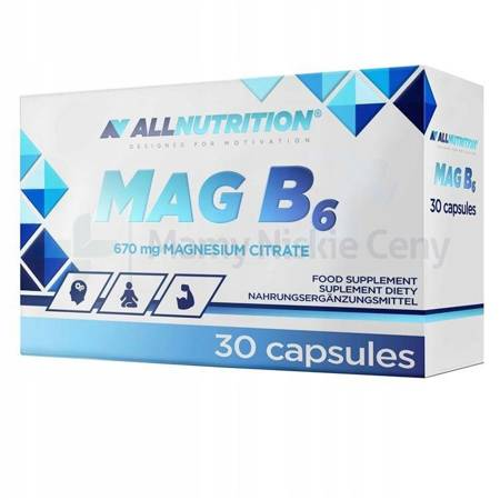 Allnutrition MagB6 30 kapsułek