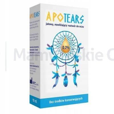 ApoTears 0,2% krople do oczu 10 ml