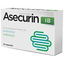 Asecurin IB synbiotyk 20 kapsułek