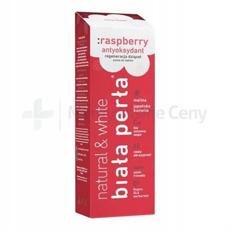 BIAŁA PERŁA Natural Raspberry Pasta 75 ml