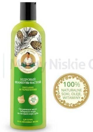 Babuszka Agafia Cedrowy szampon do włosów 280 ml