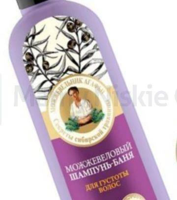 Babuszka Agafia Jałowcowy szampon do włosów 280 ml