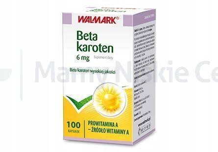 Beta-Karoten 6mg 100 kapsułek WALMARK