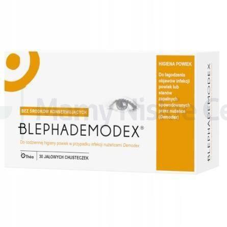 BlephaDemodex chusteczki 30 sztuk