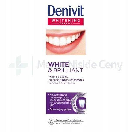 DENIVIT Pasta do zębów White & Brillant 50ml