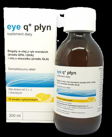 Eye Q smak cytrusowy płyn 200 ml IR