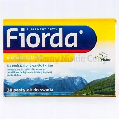 Fiorda smak cytryny 30 pastylek