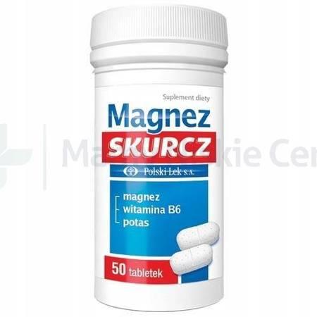 Magnez Skurcz Polski Lek 50 tabletek