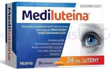 Mediluteina 30 kaspułek