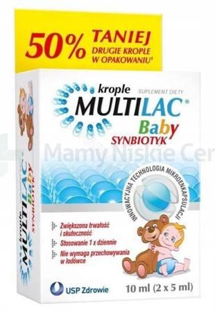 Multilac Baby 2 butelki po 5ml