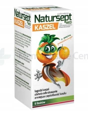 NATURSEPT Kaszel Lizaki 6 sztuk