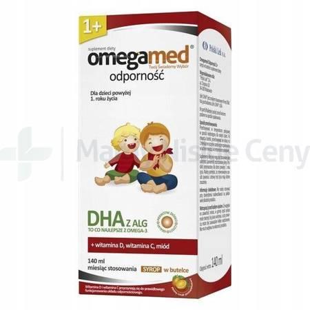Omegamed Odporność 1+ Syrop 140ml