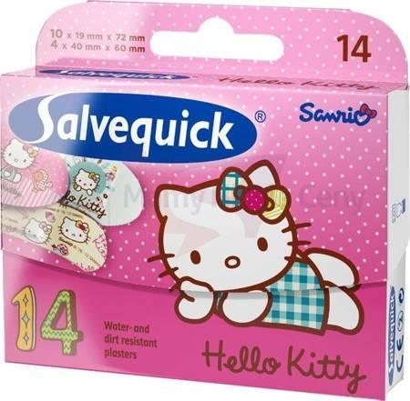 Plaster Salvequick HELLO KITTY 14 sztuk