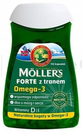 Tran MOLLERS Forte 112 kapsułek