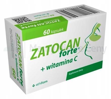 Zatocan Forte + witamina C 60 kapsułek